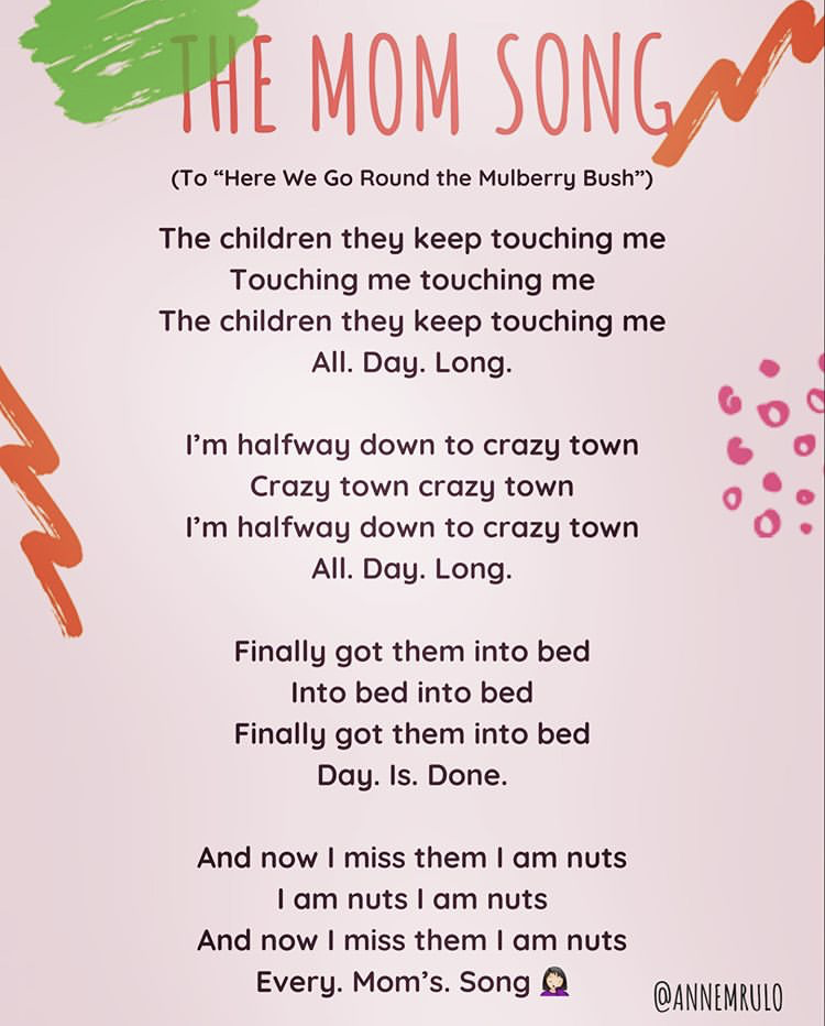 Anne Rulo The Mom Song