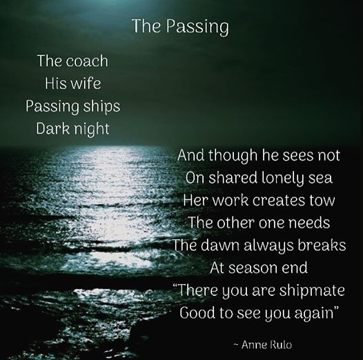 Anne Rulo The Passing Poem